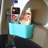 车用椅背盒汽车座椅收纳袋多功能储物盒 汽车用品杂物置物架 蓝色
