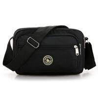 新款潮单肩包男士休闲运动旅游背包横款迷你斜挎包女包斜跨小包包