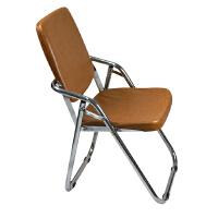 【颐海家具】折叠椅子 高靠背折叠椅 办公椅 棕色款