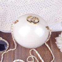 晚宴包小包包亚克力大珍珠包包女包圆球包链条小圆包圆形斜挎包潮