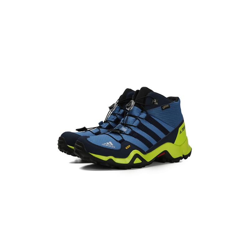 adidas阿迪达斯2018男大童TERREX MID GTX K户外鞋CM7710 秋装尚新 潮品来袭 正品保证
