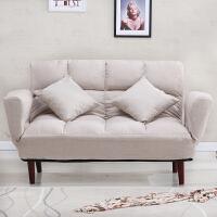 懒人沙发创意沙发床小户型双人布艺沙发客厅卧室榻榻米服装店沙发