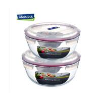三光云彩glasslock钢化玻璃保鲜盒大容量汤盆米缸保鲜碗两件套礼盒装6000ML+4000ml 组合礼品装GL40