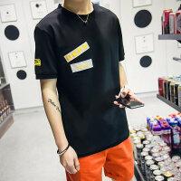 韩版男士圆领短袖潮牌男装夏季新款学生T恤打底衫上衣t体恤