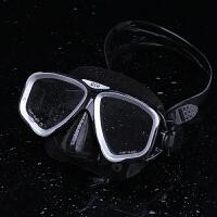 游泳眼镜 防水泳镜男女护鼻潜水镜 防雾大框泳镜潜水装备新品