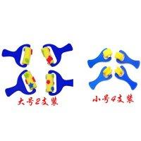 2只套装 儿童DIY 早教 绘画好帮手 海绵刷 海绵印章 海绵滚筒刷 儿童画画工具 绘画涂鸦海绵滚筒刷/海绵刷 4只小