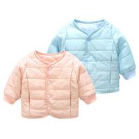 宝宝衣服冬季0岁3月童上衣新生儿外套冬季婴儿加厚外出服