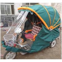 封闭电动三轮车篷避雨遮阳蓬电动三轮车车棚折叠三轮车棚新品