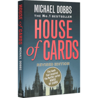 纸牌屋 英文原版小说 House of Cards 美国电视剧原著小说 进口英语书籍 Michael Dobbs迈克尔道