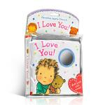 顺丰发货 英文原版 I Love You Cloth Book 布书 睡觉书 爱的晚安系列 Caroline Jayn