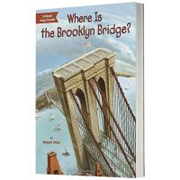 布鲁克林桥在哪里 英文版原版 Where Is Brooklyn Bridge 英文原版儿童桥梁章节书 中小学生读物