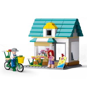 【当当自营】小鲁班模拟城市系列儿童益智拼装积木玩具 快洋的花店M38-B0570