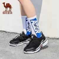 骆驼童鞋2019新款儿童运动鞋潮男童厚底中大童跑步鞋休闲女童鞋子