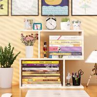 书架 简易桌上学生办公室桌面置物架简约现代省空间宿舍家用收纳架多功能迷你小架子