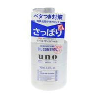 资生堂 UNO吾诺男士多效肌能水乳液160ml 白瓶控油型