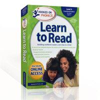 美国进口英文教材 迷上自然拼读系列 第六级 Hooked on Phonics Learn to Read Level