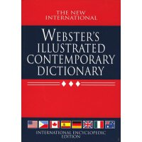 Webster's Illustrated Contemporary Dictionary (New International Webster's) 【英文原版 精装】韦氏插图字典