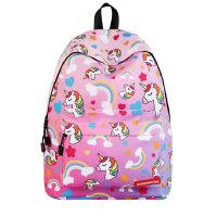 茉蒂菲莉 儿童书包 户外旅行双肩包背包 2020新款跨境中小学生独角兽女生书包