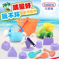 儿童沙滩套装玩具铲子宝宝挖土挖沙女孩玩沙子工具组合男孩1-3岁2