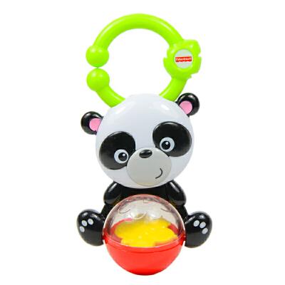 [当当自营]Fisher Price 费雪 缤纷动物之熊猫摇铃 婴儿玩具 Y6583【当当自营】适合0-3岁婴幼儿,牙胶摇铃系列 安全无毒材质