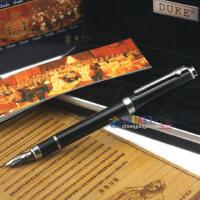 德国 DUKE公爵 116 碳纤 美工钢笔 复合弯头钢笔 书法尖