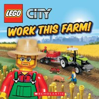 进口英文原版 现货【英文原版】 乐高城市Lego City:Work This Farm! 这个农场工作! 乐高绘本 儿