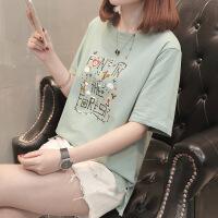 短袖T恤女韩版衣服夏装2018新款打底体恤衫短袖上衣女 X