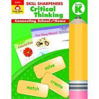 Skill Sharpeners Critical Thinking Grade K 技能铅笔刀 批判性思维练习册 幼儿