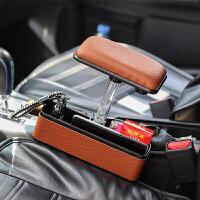 汽车通用肘托扶手箱式多功能车载座椅缝隙收纳盒 夹缝车用置物盒