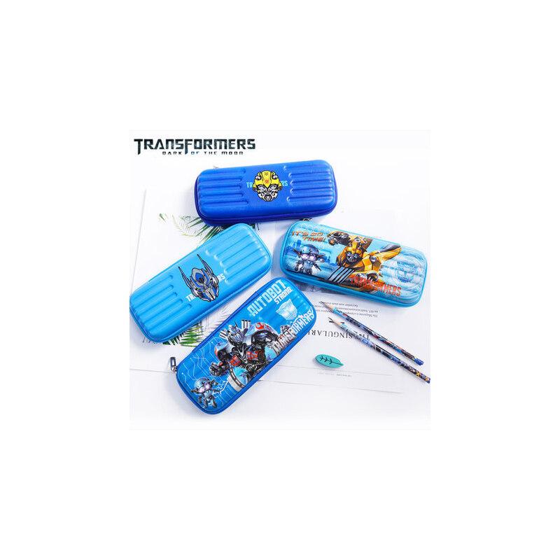 小学生文具盒男孩大容量变形金刚笔袋男童卡通铅笔盒文具盒铅笔盒 变形金刚大容量