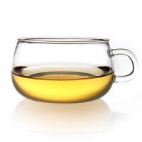 玻璃圆趣杯 水杯 生产耐热玻璃茶杯 玻璃把杯 咖啡杯200ML