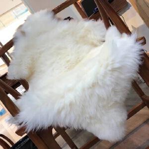 来自内蒙古大草原 * 120.60cm左右  纯真羊皮
