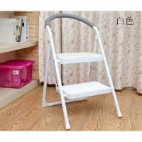 日式家用梯楼梯椅两步梯折叠收纳梯子多功能室内加厚加宽人字梯