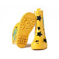 儿童雨鞋男童胶鞋雨鞋时尚女童雨鞋雨靴水鞋