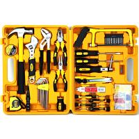 得力deli3703 多功能组合工具箱 家用/维修/五金工具套装 53件套