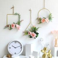 家里装饰品装上墙上的 创意奶茶店房间卧室内餐厅墙上墙面装饰品墙壁挂件北欧客厅挂墙花