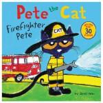 Pete the Cat: Firefighter Pete,皮特猫:消防队员皮特 英文原版儿童桥梁书 适合5-7岁