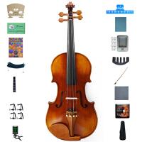 Saysn思雅晨初学者练习考级演奏小提琴哑光儿童成年人小提琴 V-011配肩托4/4 1/2 3/4 1/4