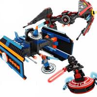一号玩具 星球大战儿童军事积木益智拼装积木男孩塑料拼插玩具
