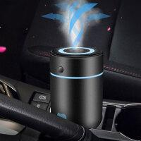 车载加湿器汽车用香薰喷雾空气净化器车内加香水雾化