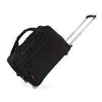 可折叠手提拉杆包男女休闲旅行包大容量行李包登机旅游包袋静音轮