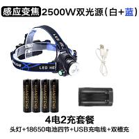 强光手电筒充电3000米远射超亮远程多功能特种兵探照灯手提灯