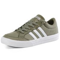 阿迪达斯(adidas)VS SET BB9643 卡其色新品三叶草低帮休闲帆布鞋运动鞋板鞋男鞋女鞋