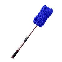 洗车拖把伸缩式多功能专用刷车刷子长柄软毛汽车拖把车载清洁工具
