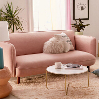 北欧沙发小户型客厅整装公寓简约出租房经济型双三人位美容院沙发