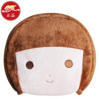 春笑 情侣款豆豆男孩 USB暖手鼠标垫/USB鼠标垫/USB电热鼠标垫(棕色)
