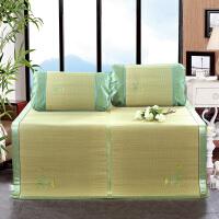 伊迪梦家纺冰丝席草席1.5米天然纯凉席1.8米午休席0.9米凉席枕套xdd009