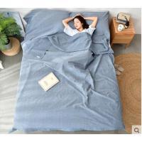 睡袋床单单双人旅行床单酒店隔脏睡袋成人纯棉便携式宾馆出差室内户外