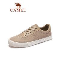 camel骆驼男鞋2019春季新款鞋子韩版休闲鞋潮流百搭学生板鞋反绒运动鞋