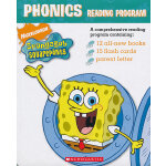 Spongebob Squarepants Phonics Box 1 海绵宝宝之自然拼读法套装 01 ISBN 9780439779487